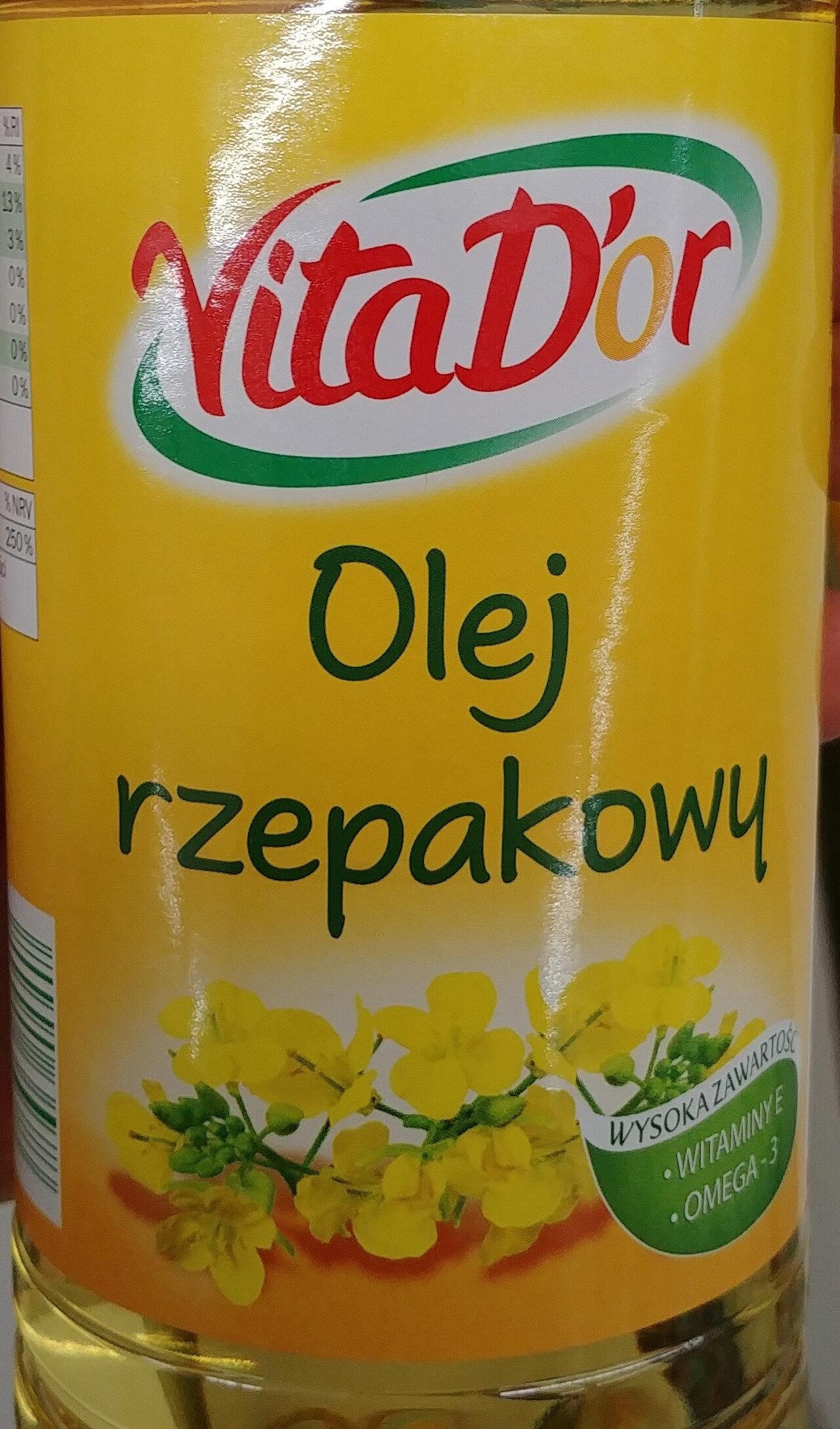 Rapsöl - Produkt - pl