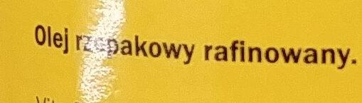 Rapsöl - Składniki - pl