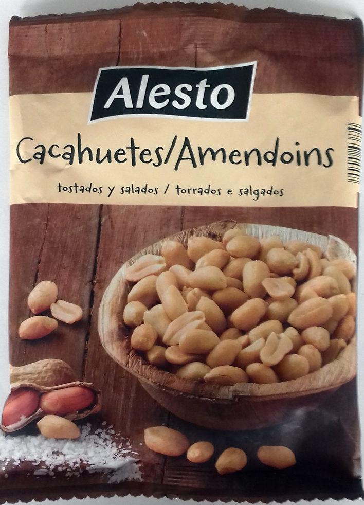 Cacahuètes grillées & salées - Producto