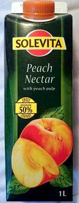 Peach Nectar with Peach Pulp - Produkt - en