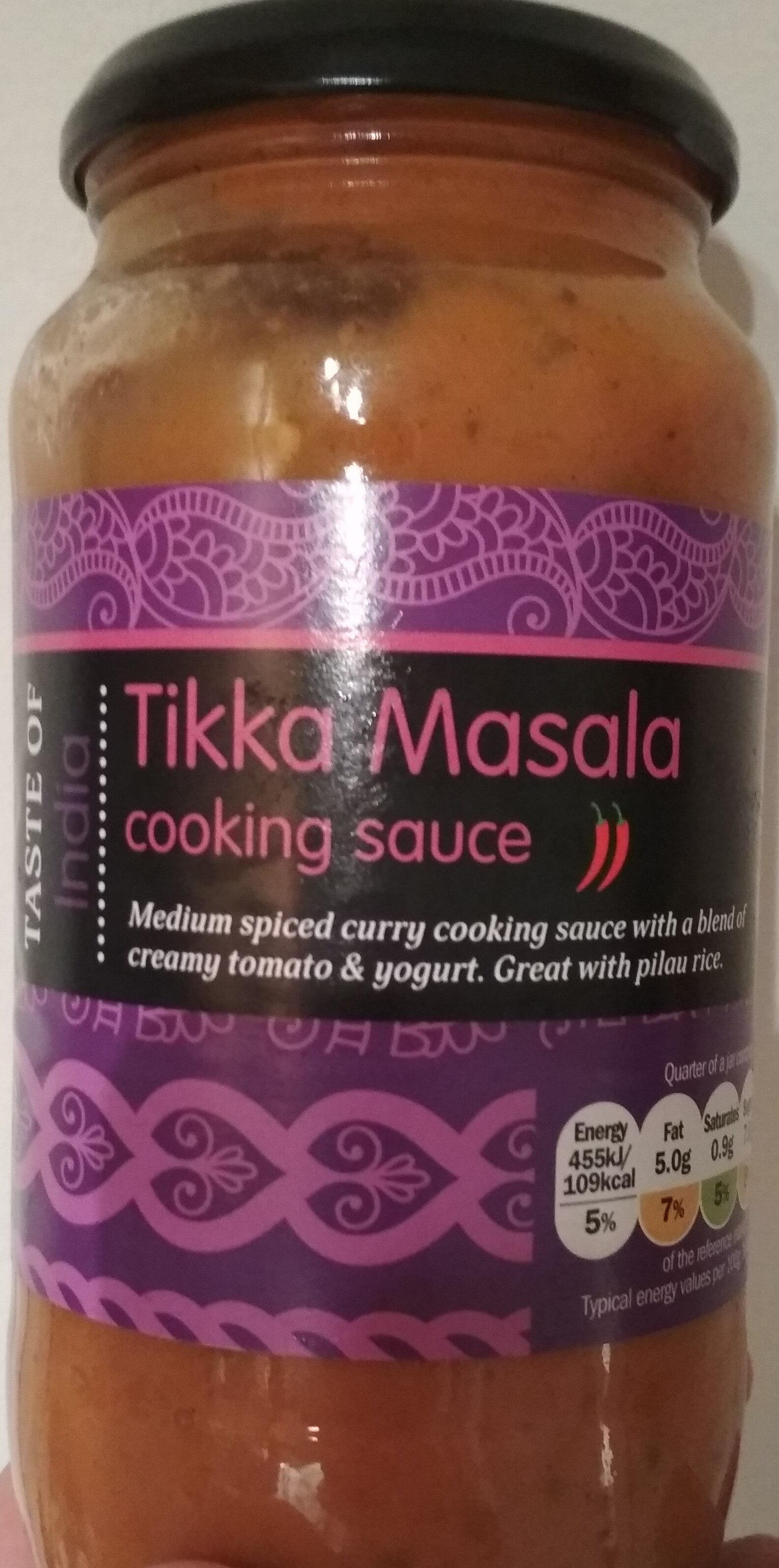 Tikka Masala Cooking Sauce - Produit - fr