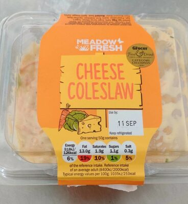 Cheese coleslaw - Product