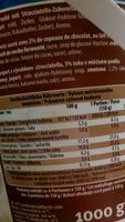 Joghurt mild Stracciatella - Ingrediënten