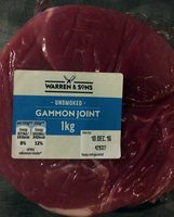 Unsmoked gammon joint - Product