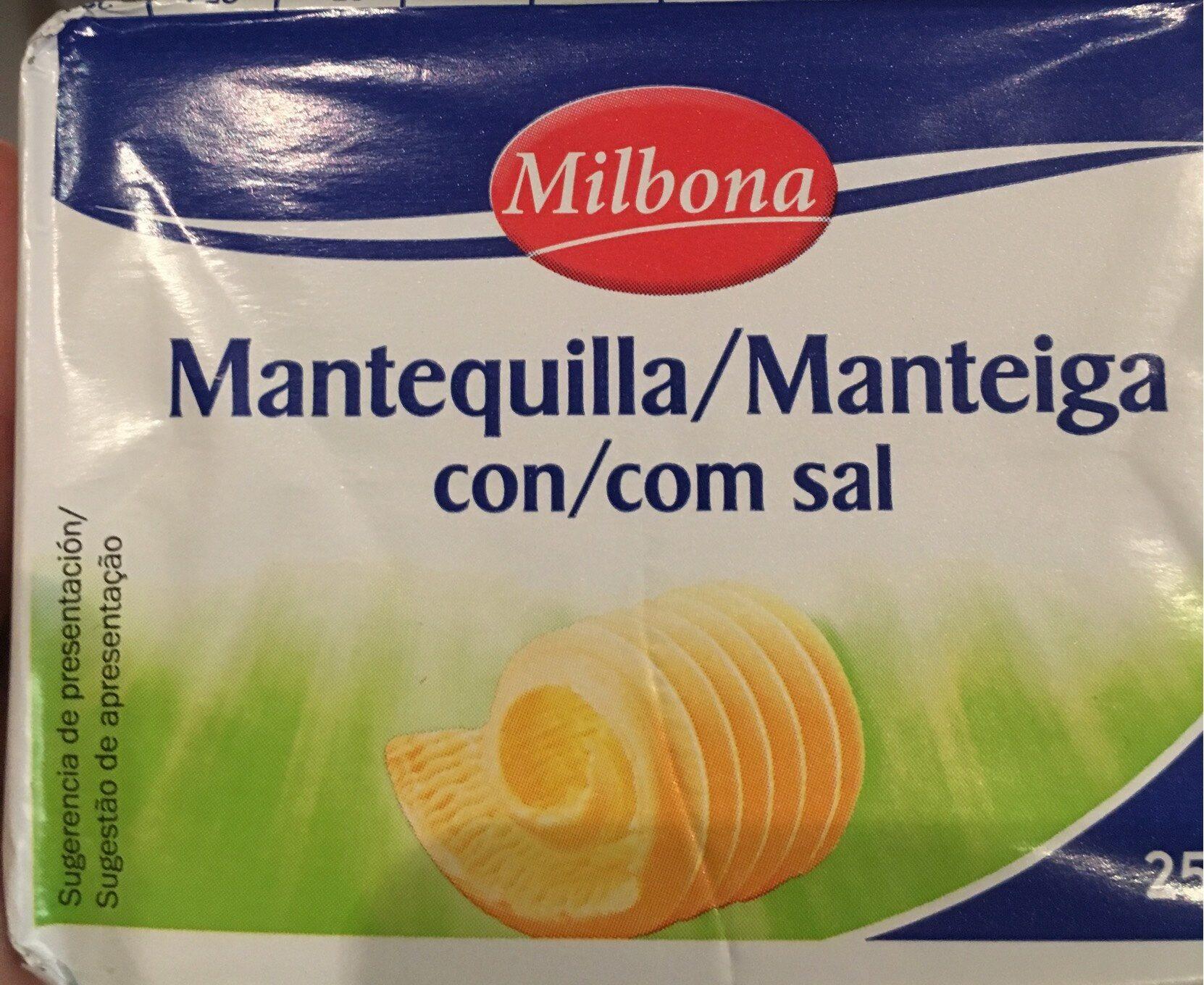 Mantequilla con sal - Producte - pt