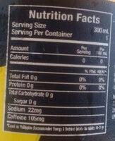 Diet Lemonade - Informations nutritionnelles - fr
