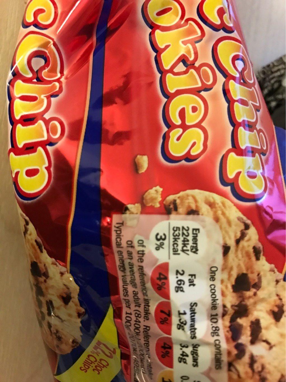 Choc Chip Cookies - Prodotto - en