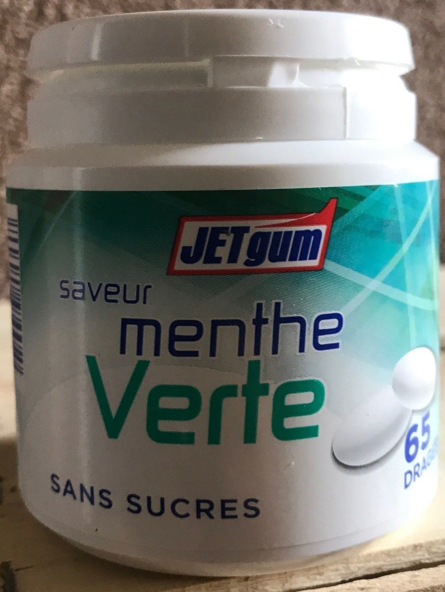 Chewing-gum saveur menthe verte - Product - fr