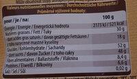 Chocolat Noir Spécial Dessert - Informations nutritionnelles - fr