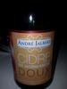 Cidre de Normandie doux - Product