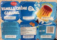 Vanilla crème caramel - Produit - fr
