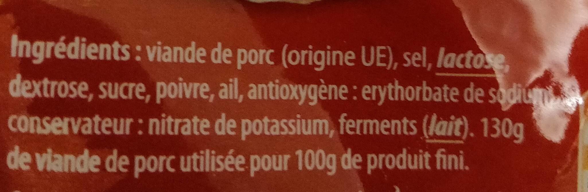 Vanilla crème caramel - Informations nutritionnelles - fr