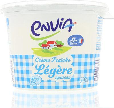 Crème fraîche legère 15%MG - Product - fr