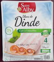 Blanc de Dinde, Cuit à l'étouffée (4 tranches) - Produit