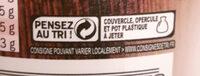 Véritables Rillettes du Mans (Pur Porc) - Instruction de recyclage et/ou information d'emballage - fr