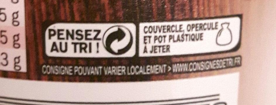 Véritables rillettes du Mans - Instruction de recyclage et/ou informations d'emballage - fr