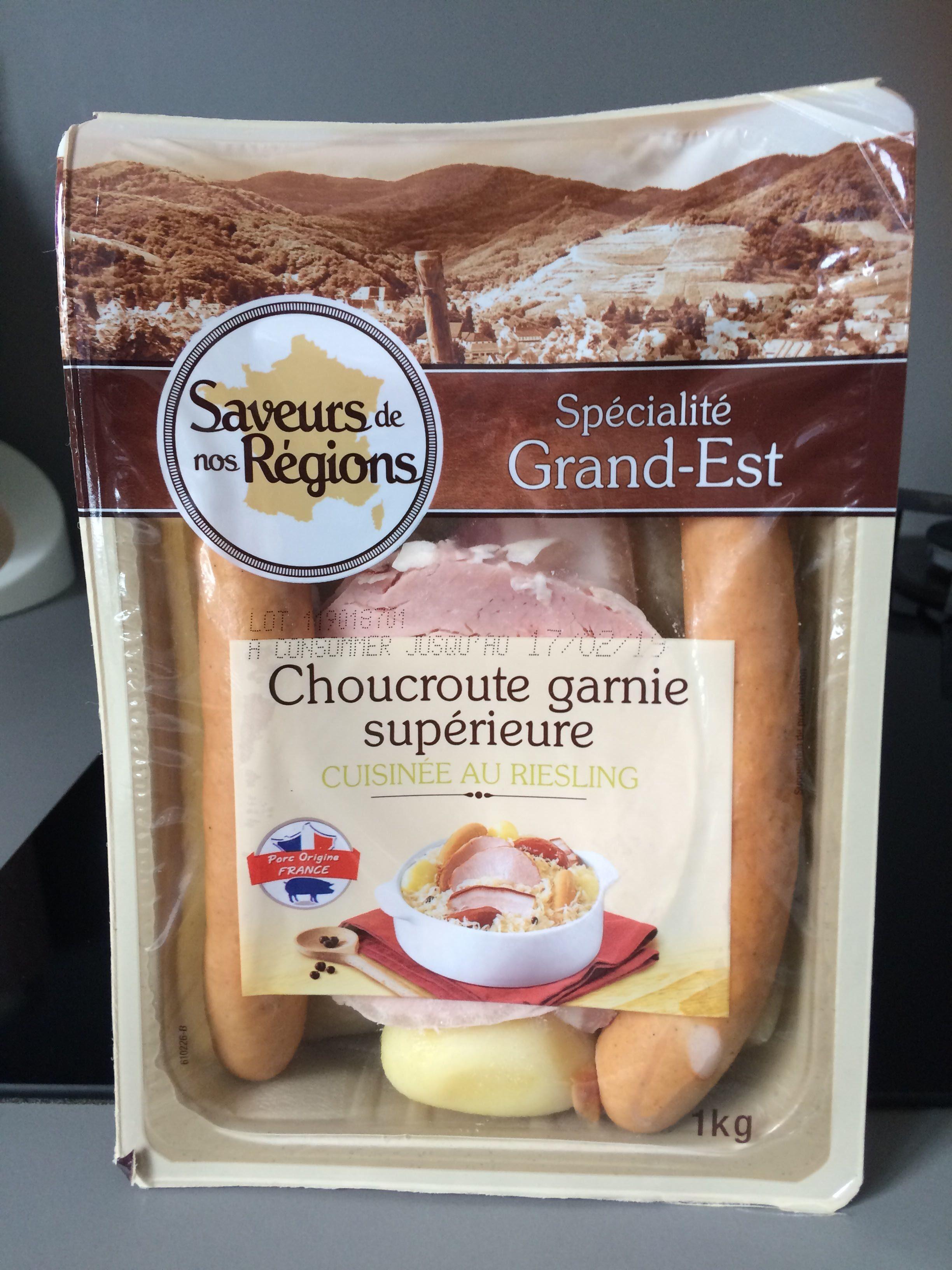Choucroute garnie supérieure - Produit - fr