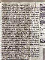 Choucroute garnie supérieure - Ingrédients - fr