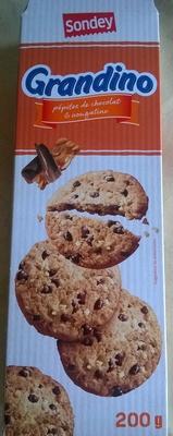 Grandino Pépites de Chocolat & Nougatine - Product