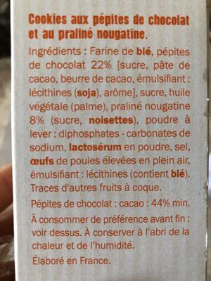 Grandino Pépites de Chocolat & Nougatine - Ingrediënten