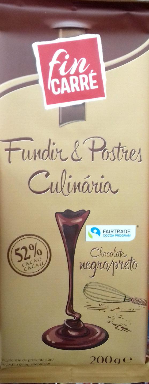 Chocolat Noir Dessert - Producto - es