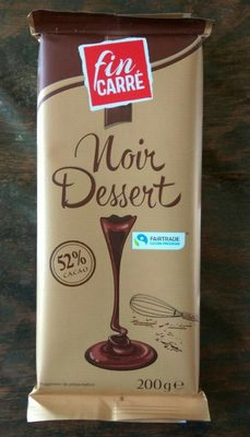 Chocolat Noir Dessert - Producte