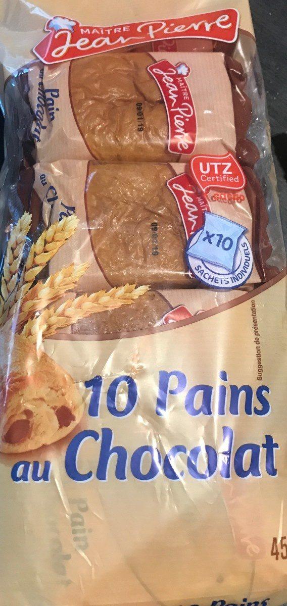 10 pains au chocolat - Produit - fr
