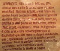 10 pains au chocolat - Ingrédients - fr