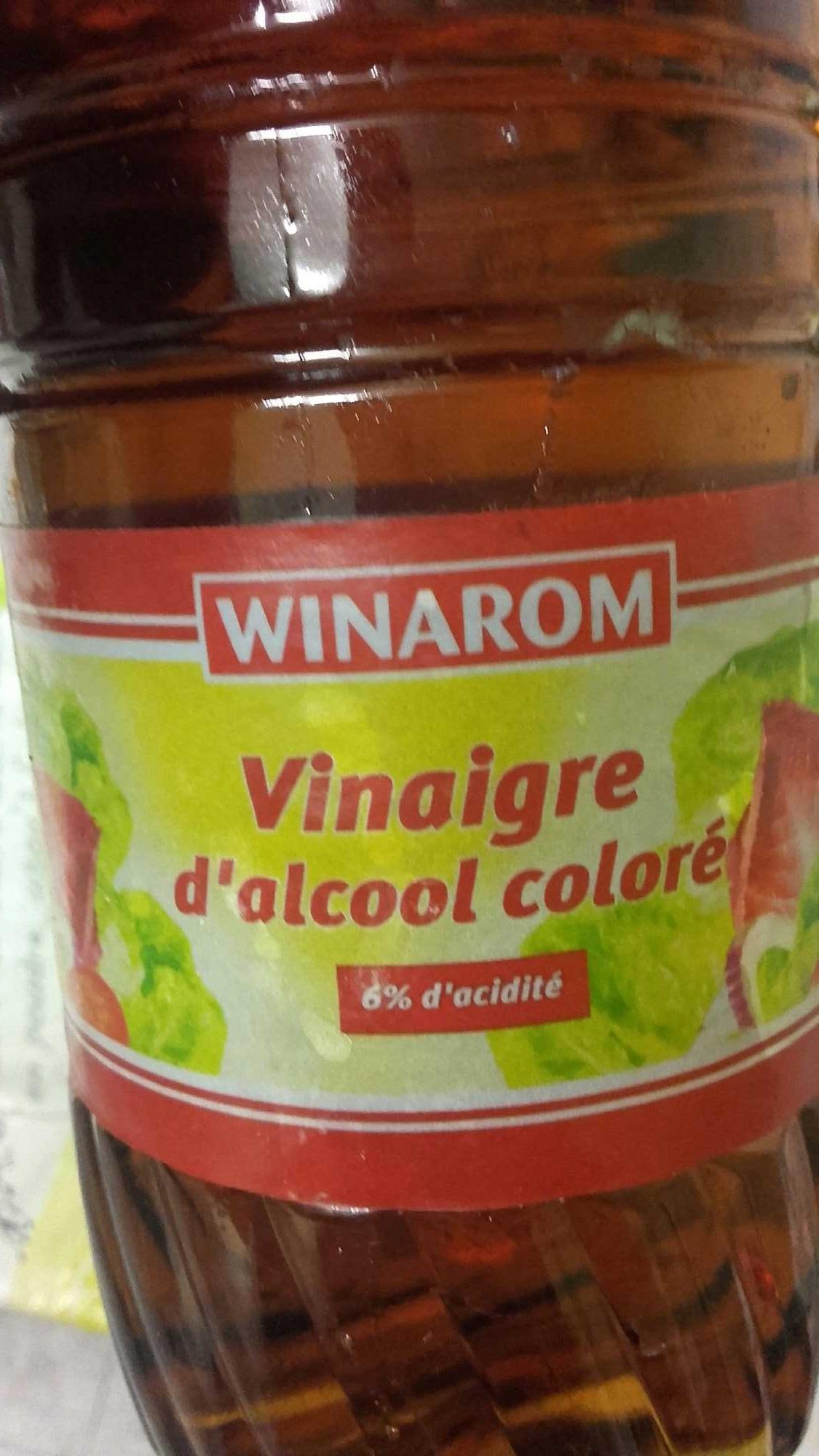 Vinaigre d 39 alcool color winarom 1l - Vinaigre d alcool cuisine ...
