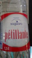 Eau minerale petillante - Product