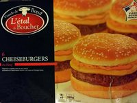 6×cheeseburgers au bœuf - Product