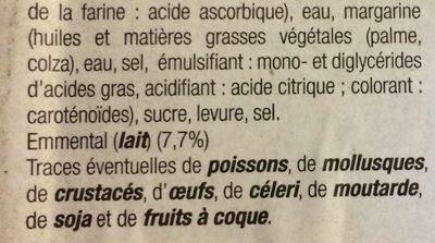 Roulés au Fromage - Ingrédients - fr