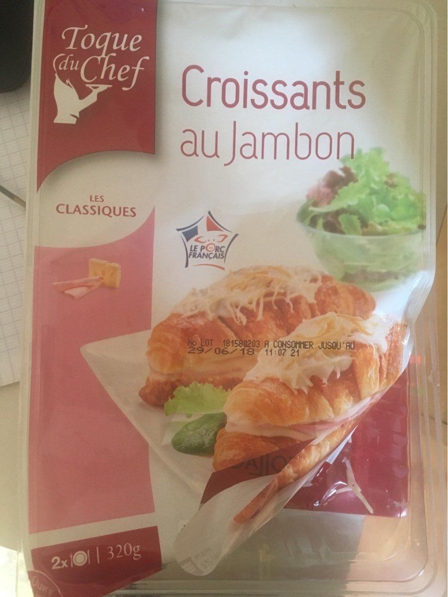 Croissants au jambon - Product - fr