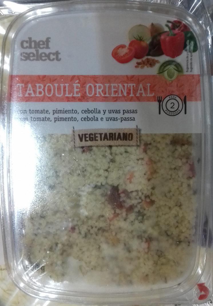 Taboulé oriental à l'huile d'olive vierge extra - Producto