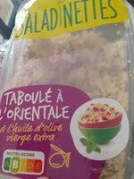 Taboulé à l'orientale - Produto - fr