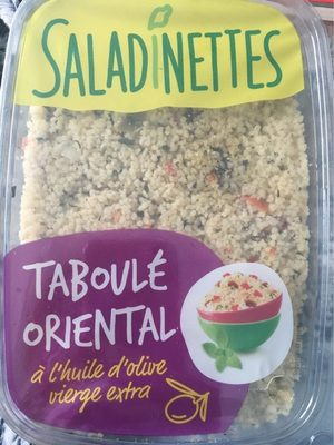 Taboulé orientale - Produit