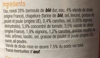 Caffe crema - Ingrédients - fr
