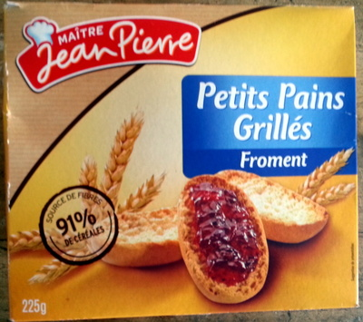 Petits pains grillés froment - Product