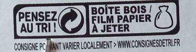 Camembert - Instruction de recyclage et/ou informations d'emballage - fr