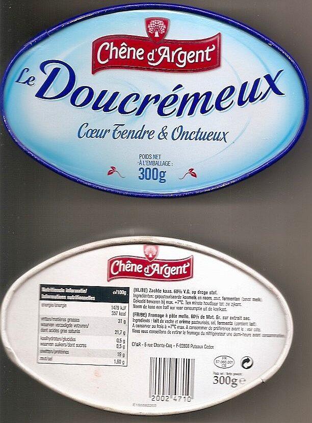 Fromage Doux et Crémeux (31 % MG) - Product - nl