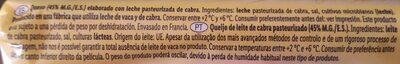 Bûche de chèvre - Ingrédients - fr