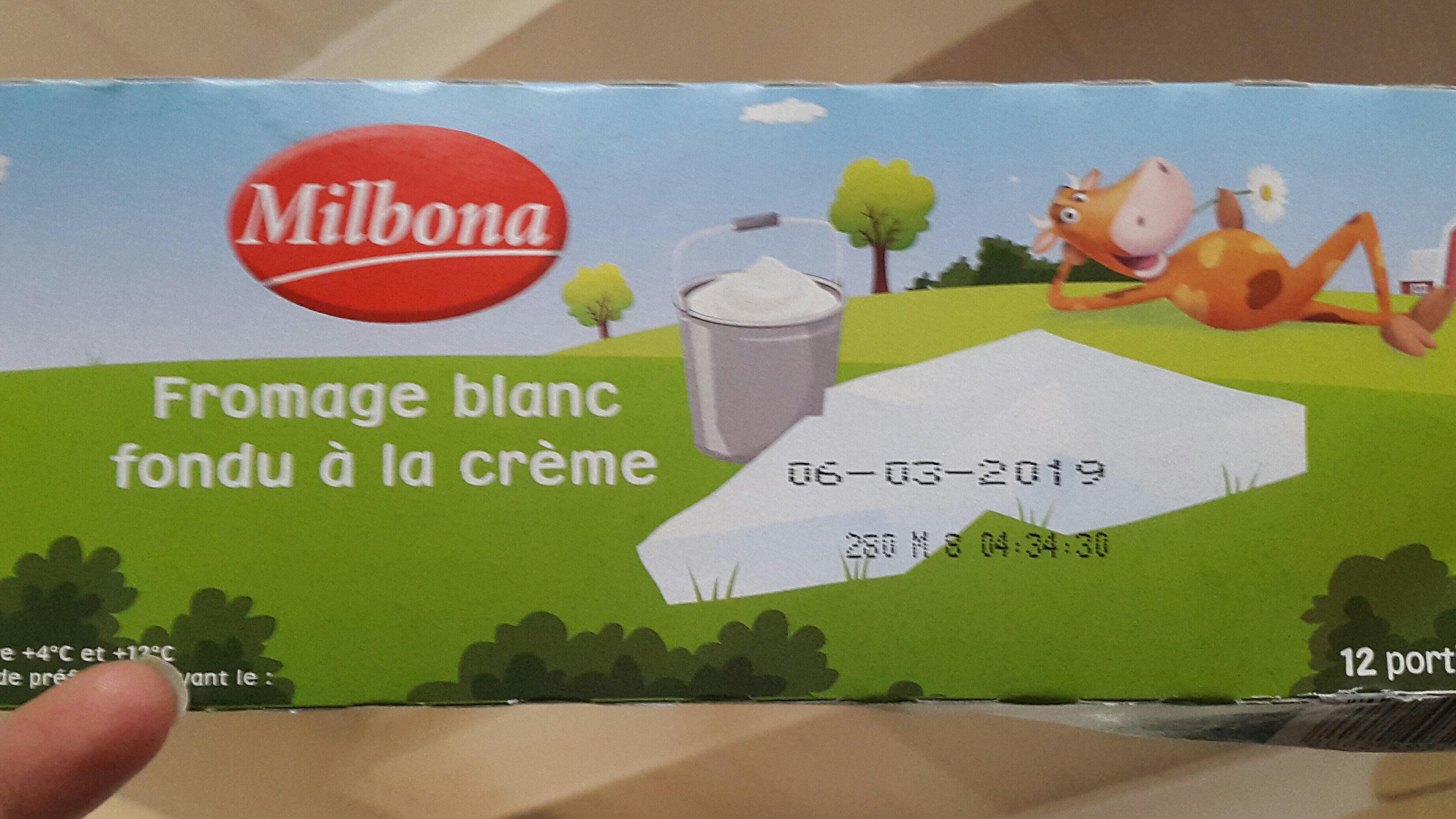 Fromage blanc fondu à la crème20 g - Product