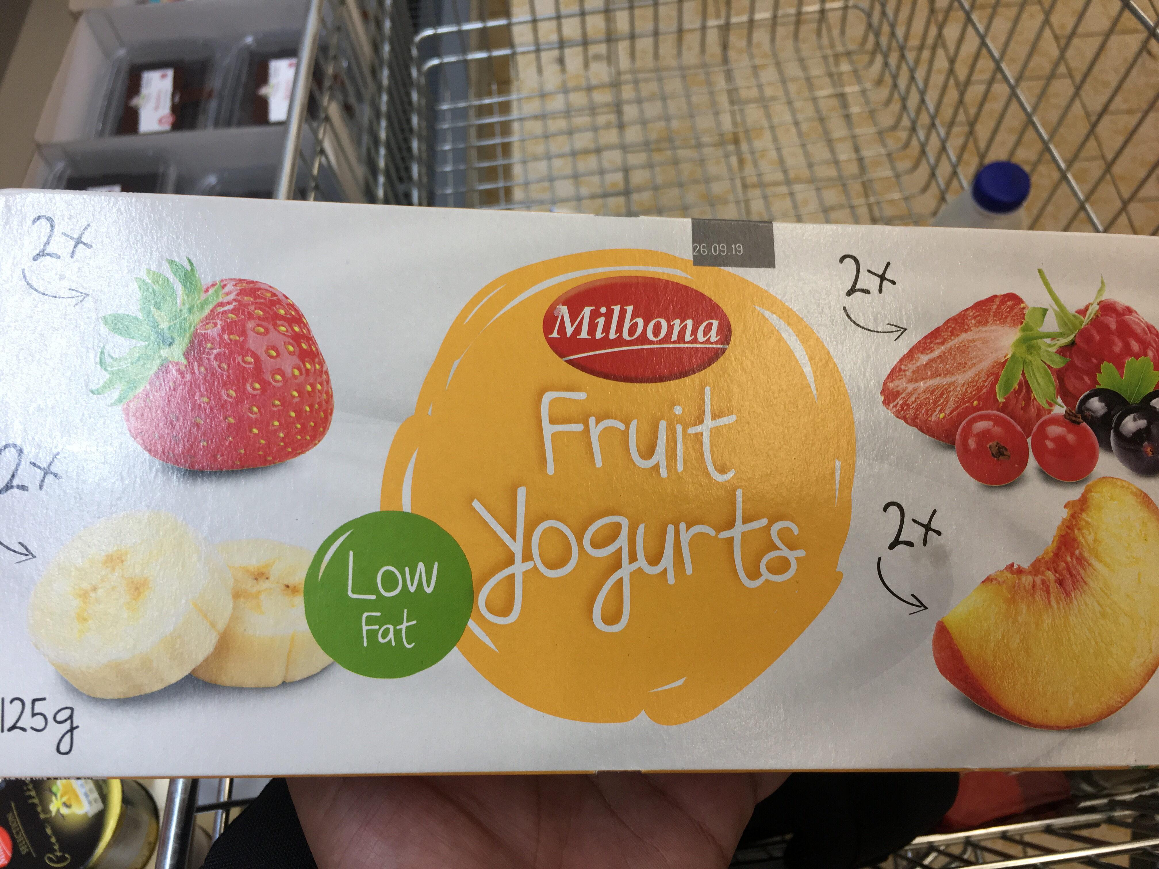 Yaourts Brassés à La Pulpe De Fruits - Produit - en