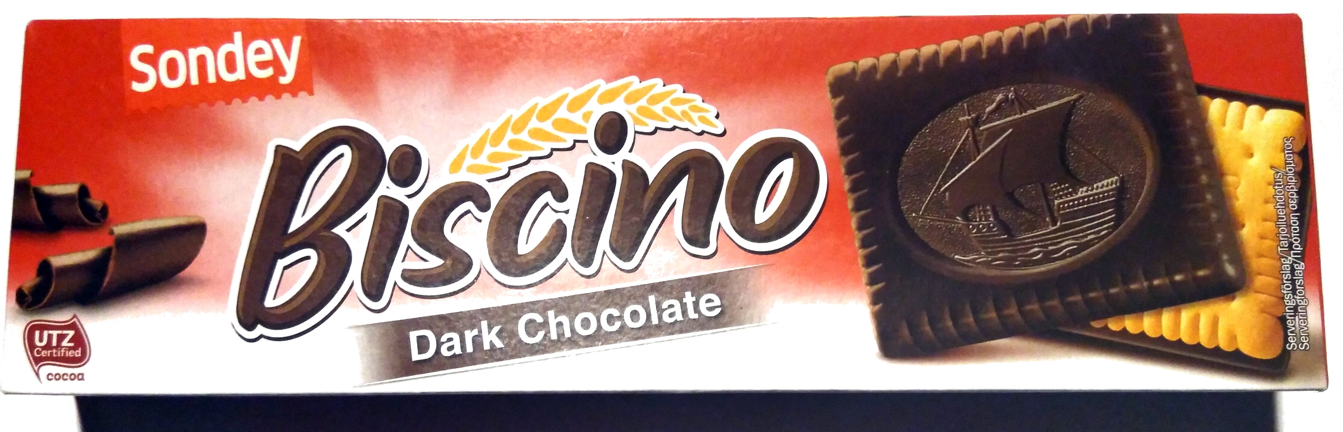 Biscino Dark Chocolate - Prodotto - fi