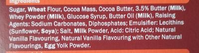 Biscino Dark Chocolate - Ingredients - en