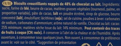 Choco Pouce - Ingrédients - fr