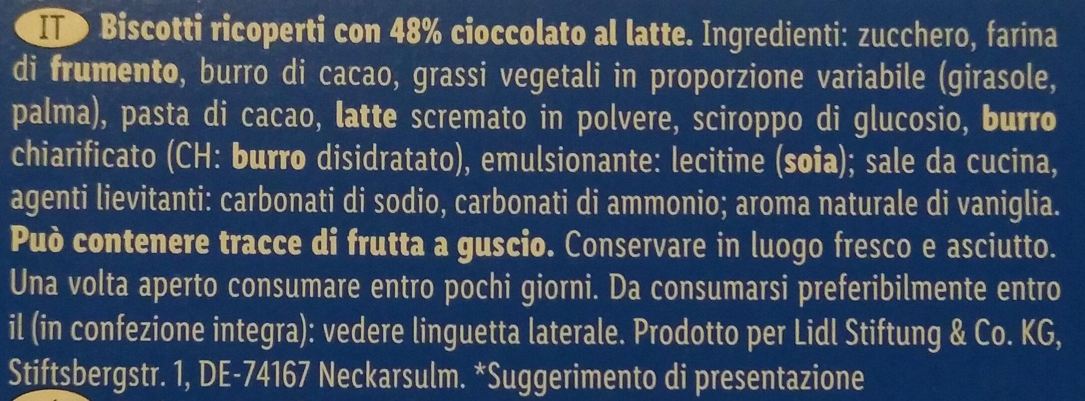 Choco Pouce - Ingredienti - it