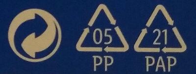 Choco Pouce - Istruzioni per il riciclaggio e/o informazioni sull'imballaggio - it