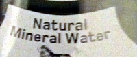 natural mineral water - sparkling - Ingredients