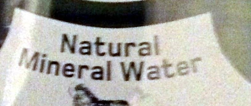 natural mineral water - sparkling - Ingredients - en